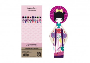 Bookmarks - Kokeshis