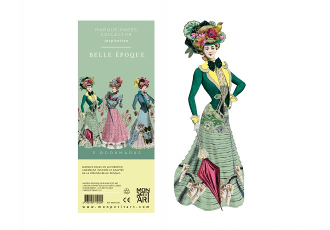 Bookmarks Collector- Belle Epoque
