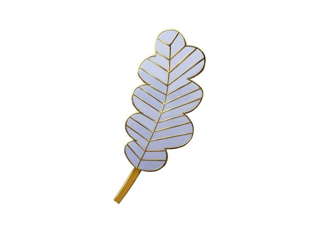 LARGE LAVENDER LEAF PIN'S