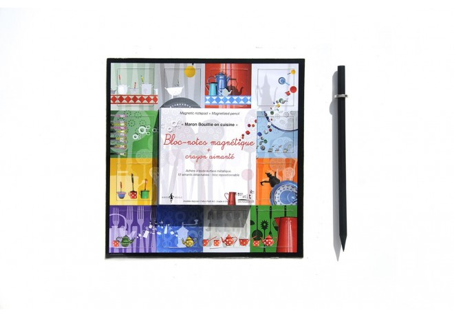 Magnetic notepad - In the kitchen