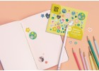 Artists stickers - Floral