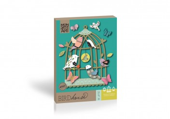 Coffret de décoration - Bird House