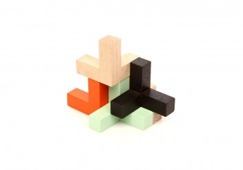 Triada Eclipse - Wooden toy
