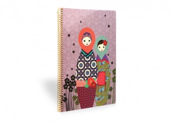 Daydreaming Notebook - Large - Matriochkas