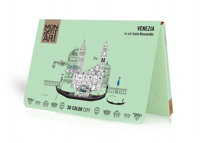 3D Color City - Venezia
