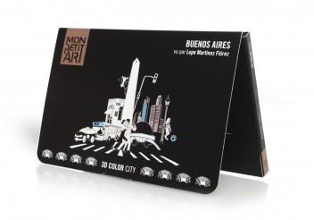 3D Color City - Coloring Buenos Aires