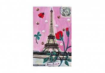 Poster - Paris en rose