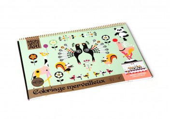 Cuaderno para colorear - Animal Dancing