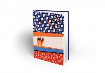 Cuaderno Maron Bouillie - Pays sages