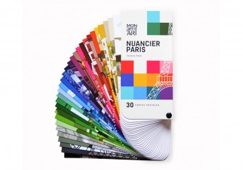 Nuancier Paris - 30 Cartes Postales