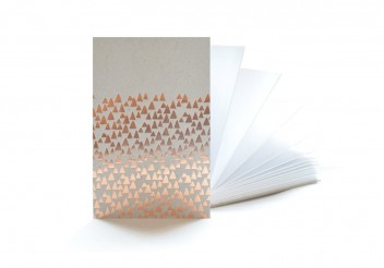 Notebook accordion Copper - 3 meters for inspiration