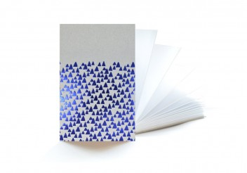 Notebook accordion Cobalt - 3 meters for inspiration