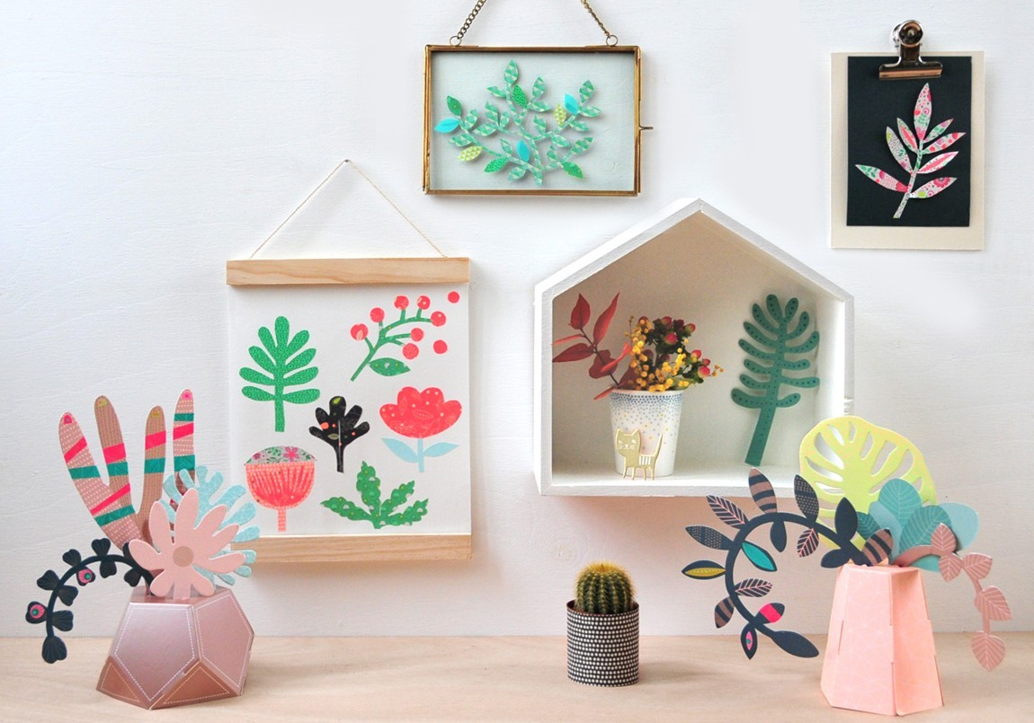 Decoration kit jardin secret by mini labo create for Deco jardin miniature