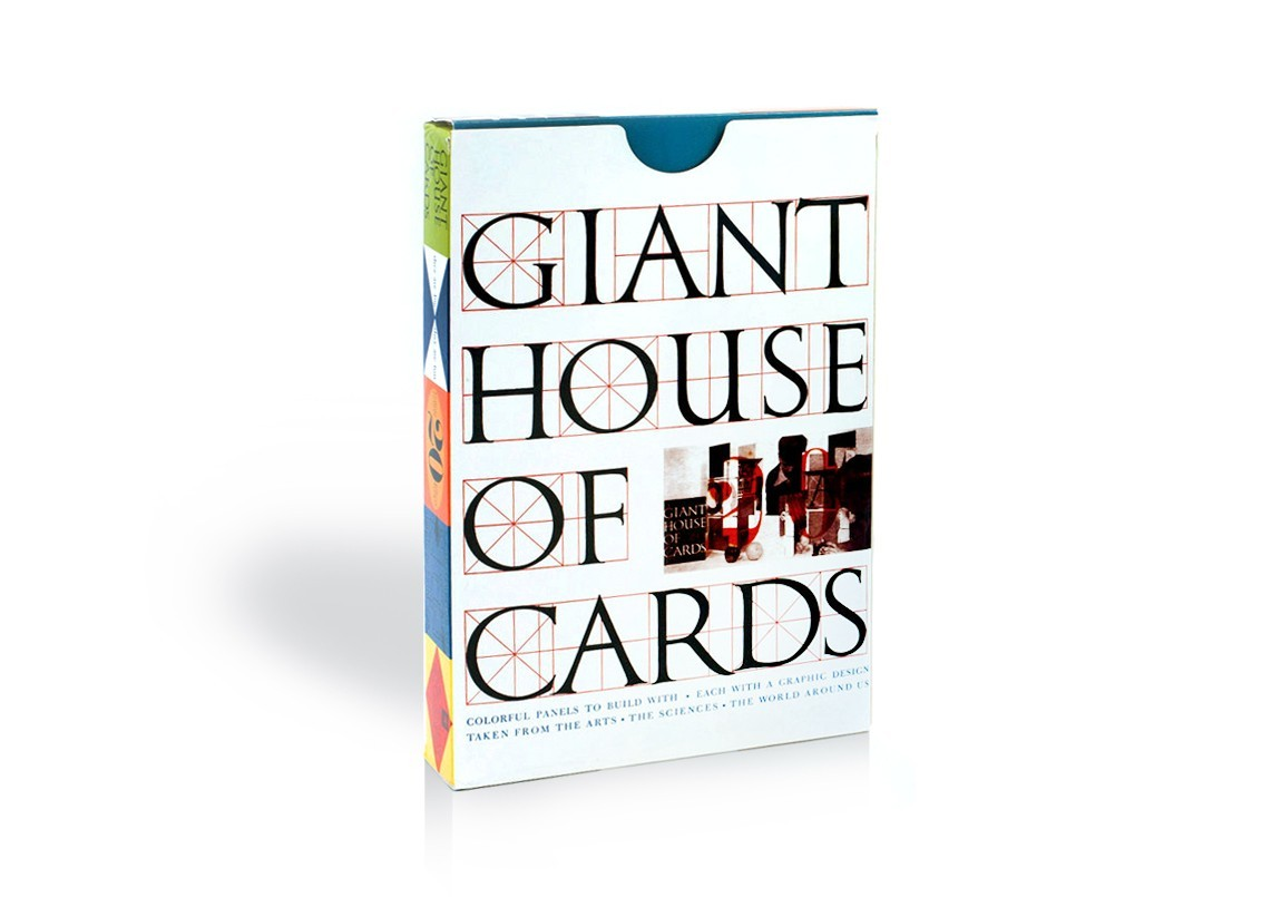 House of Cards - Giant by Charles and Ray Eames| Design