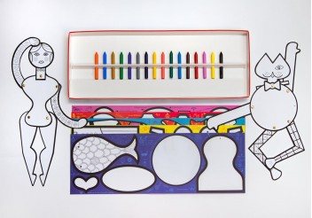 Eames Coloring Toy